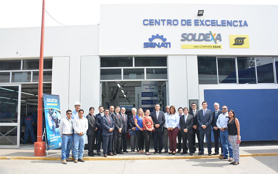 centro de excelencia senati-soldexa